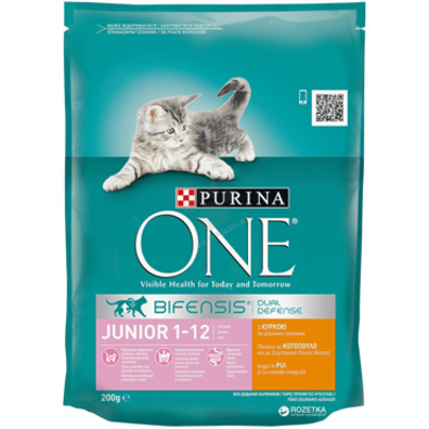 Purina One Гранули 200 г Джуниър